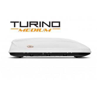 Автобокс Turino Medium Duo белый матовый