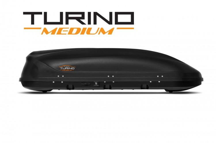 Автобокс Turino Medium Duo черный матовый