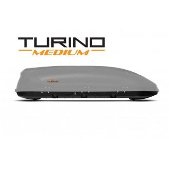 Автобокс Turino Medium Duo серый матовый