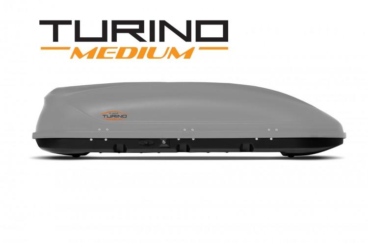 Автобокс Turino Medium Standart серый матовый