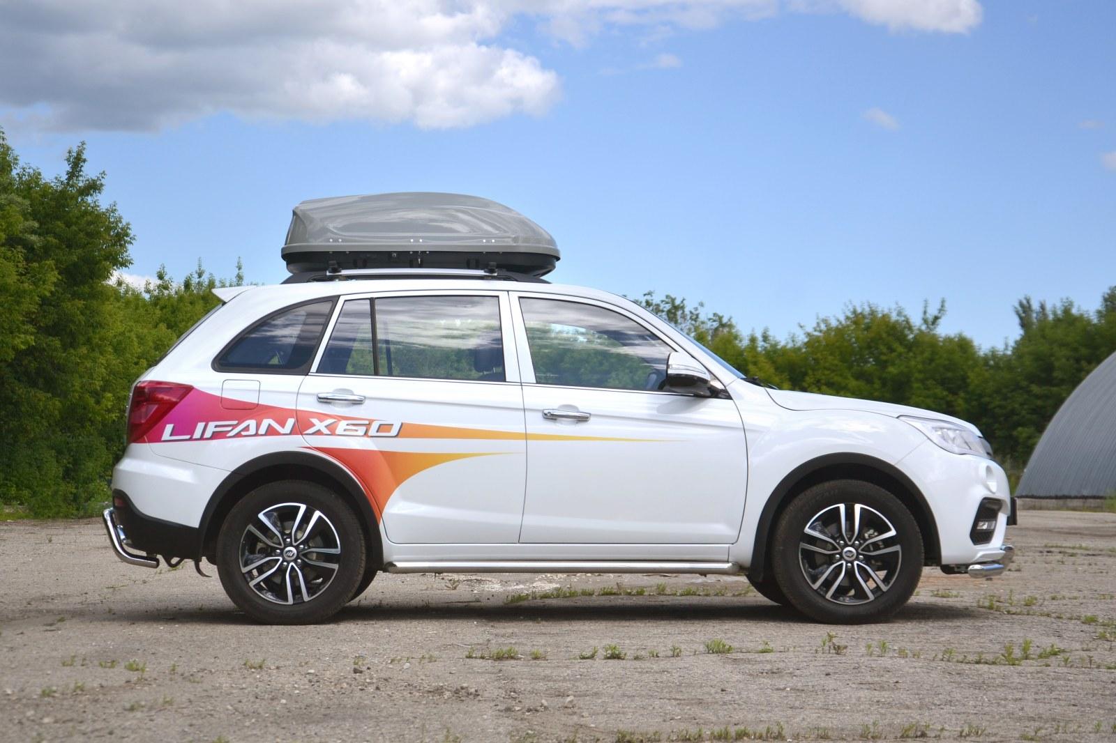 Автобокс Turino Compact на автомобиле